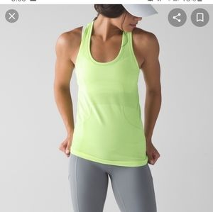 Lululemon athletica run swiftly tech tank top